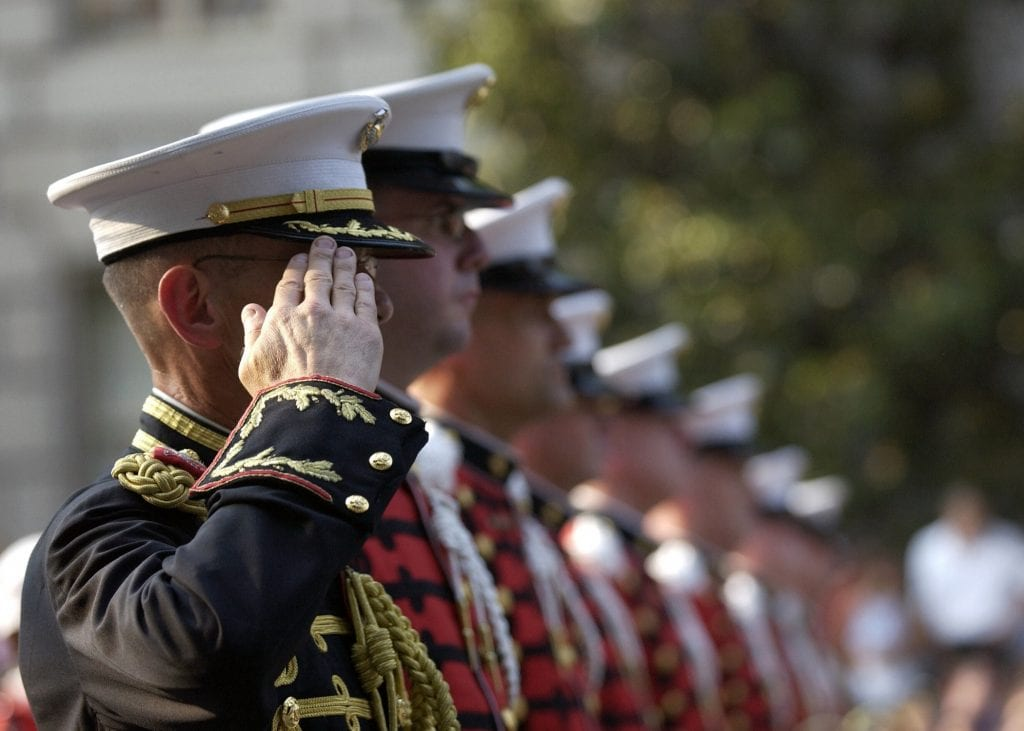 Military Personnel page feature image